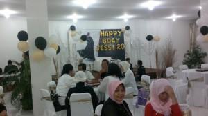 Meriahkan ulang tahun di house of eva
